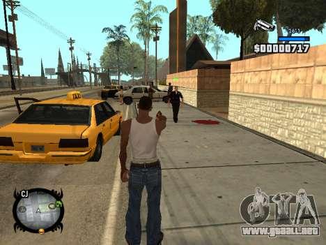 HUD by LMOKO para GTA San Andreas tercera pantalla