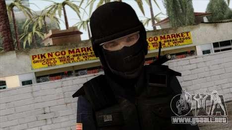 Police Skin 12 para GTA San Andreas tercera pantalla