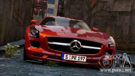 Mercedes-Benz SLS AMG 2011 [EPM] para GTA 4 vista hacia atrás