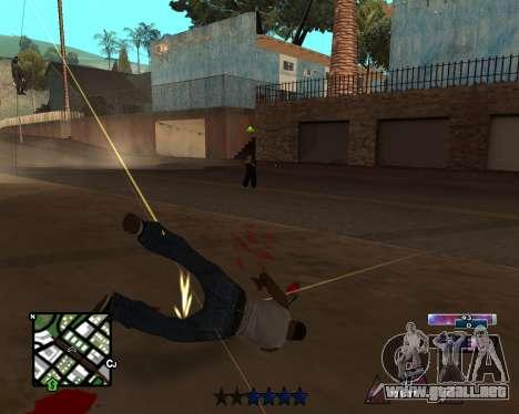 COSMOS C-HUD para GTA San Andreas tercera pantalla