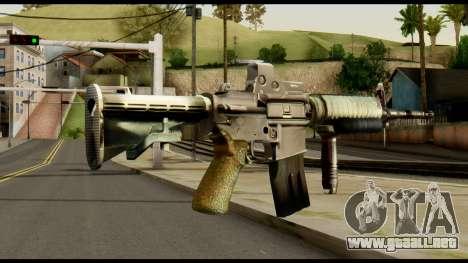 SOPMOD from Metal Gear Solid v3 para GTA San Andreas segunda pantalla