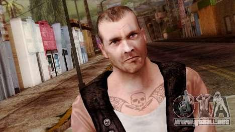 GTA 4 Skin 56 para GTA San Andreas tercera pantalla