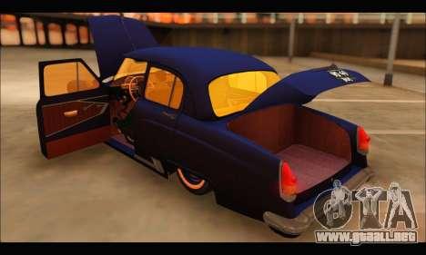 GAZ 21 Volga Resto para GTA San Andreas vista hacia atrás