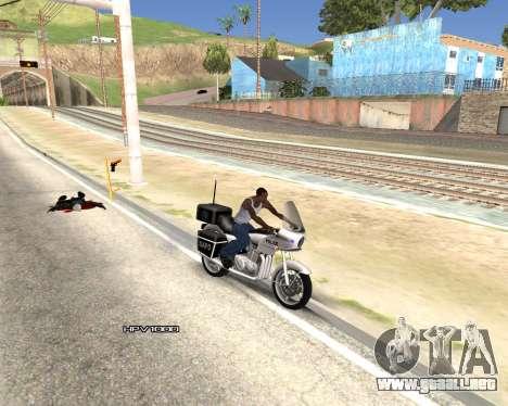 Car Name para GTA San Andreas sexta pantalla