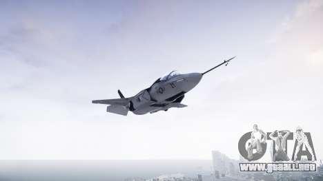 Lockheed F-35B Lightning II para GTA 4 Vista posterior izquierda