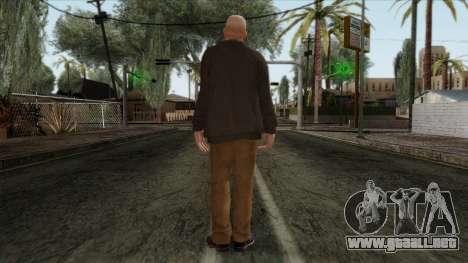 GTA 4 Skin 60 para GTA San Andreas segunda pantalla