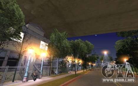 New Grove Street 50 para GTA San Andreas sexta pantalla