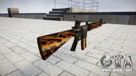 El rifle M16A2 tigre para GTA 4 segundos de pantalla