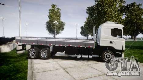 Scania 124G 400 para GTA 4 left