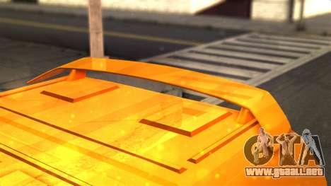 Gacela 3221 de 2007 para la visión correcta GTA San Andreas