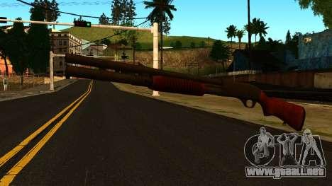 De madera MP-133 con Glitter para GTA San Andreas segunda pantalla