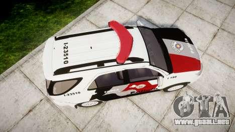 Toyota Hilux SW4 2015 Forca Tatica [ELS] para GTA 4 visión correcta
