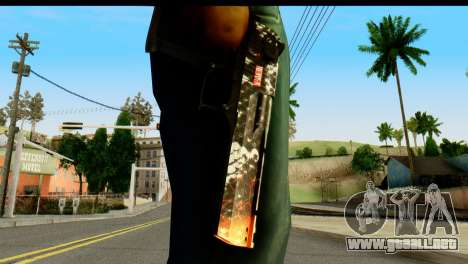 Kill Em All Desert Eagle para GTA San Andreas tercera pantalla