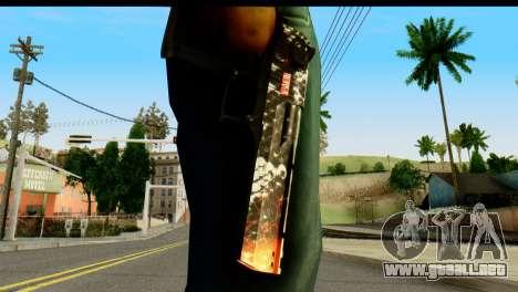 Kill Em All Desert Eagle para GTA San Andreas tercera pantalla
