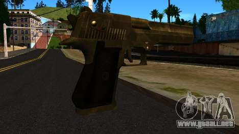 Desert Eagle from GTA 4 para GTA San Andreas segunda pantalla