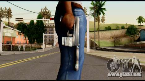 Silenced Socom from Metal Gear Solid para GTA San Andreas tercera pantalla
