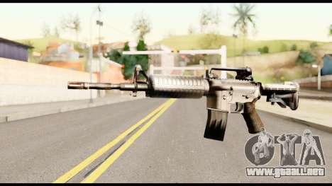 M4 from Metal Gear Solid para GTA San Andreas