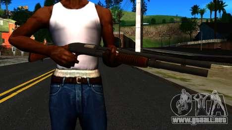 De madera MP-133 Plata para GTA San Andreas tercera pantalla