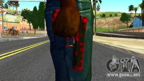 Pistol with Blood para GTA San Andreas tercera pantalla