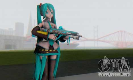 Hatsune Miku Dreamy Theater para GTA San Andreas