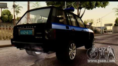 Land Rover ДПС para GTA San Andreas
