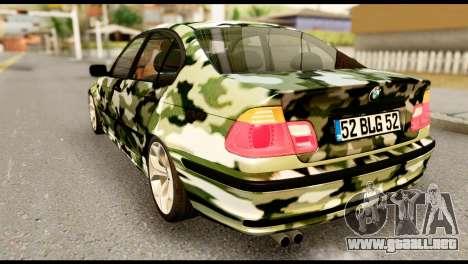 BMW M3 E46 TSK para GTA San Andreas left
