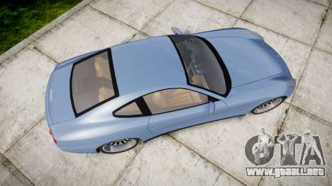 Ferrari 612 2007 Hamann para GTA 4 visión correcta