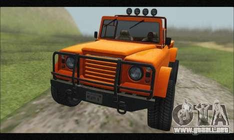 Canis Bodhi (GTA V) (IVF Y АПП) para visión interna GTA San Andreas