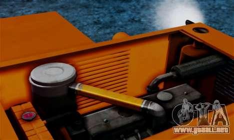 FMZ BIZON Super Z056 1985 Orange para visión interna GTA San Andreas