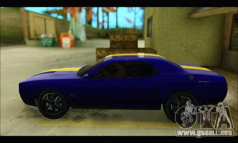 Bravado Gauntlet (GTA V) para GTA San Andreas vista posterior izquierda