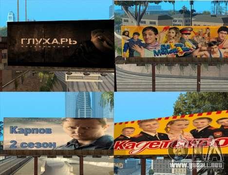 Reemplazo de publicidad (banners) para GTA San Andreas tercera pantalla