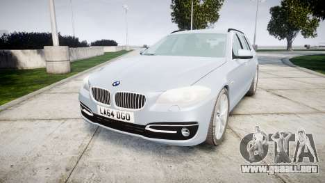 BMW 525d F11 2014 Facelift [ELS] Unmarked para GTA 4