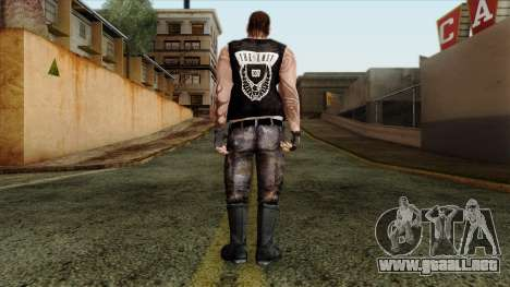 GTA 4 Skin 56 para GTA San Andreas segunda pantalla