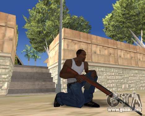HD Weapon Pack para GTA San Andreas novena de pantalla