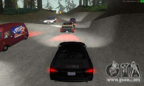 Nuevas rutas de transporte para GTA San Andreas décimo de pantalla