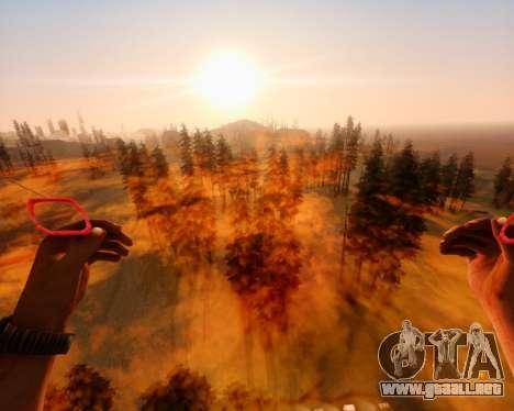 ENB_OG v2 para GTA San Andreas sucesivamente de pantalla