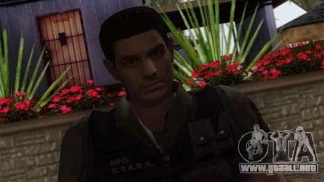 Resident Evil Skin 2 para GTA San Andreas tercera pantalla