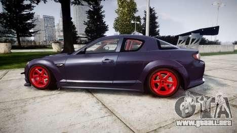 Mazda RX-8 Duck Edition para GTA 4 left