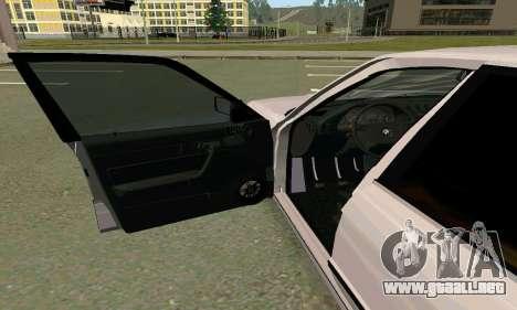 BMW 525 Turbo para la visión correcta GTA San Andreas
