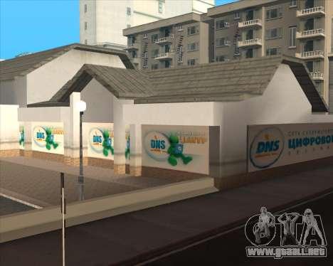 Reemplazo de publicidad (banners) para GTA San Andreas novena de pantalla