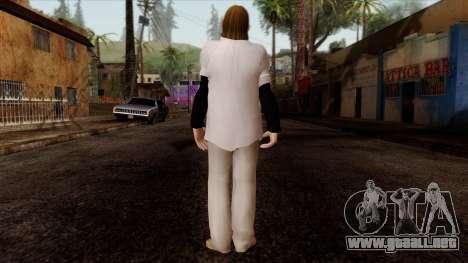 GTA 4 Skin 50 para GTA San Andreas segunda pantalla