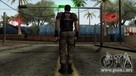 Resident Evil Skin 2 para GTA San Andreas segunda pantalla