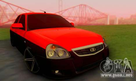 Lada Priora Glers Project para GTA San Andreas