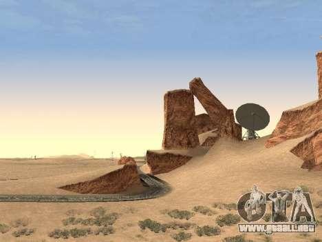 Real California Timecyc para GTA San Andreas quinta pantalla