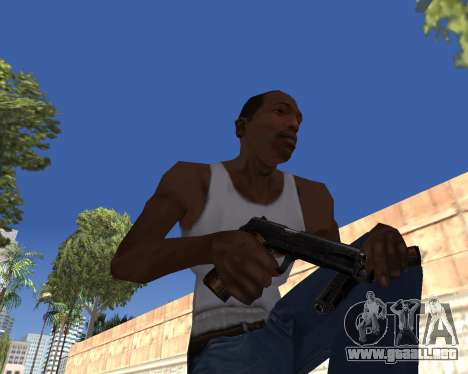 HD Weapon Pack para GTA San Andreas sexta pantalla