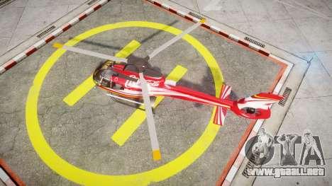Eurocopter EC130 B4 Coca-Cola para GTA 4 visión correcta