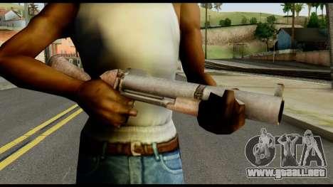 M79 from Max Payne para GTA San Andreas tercera pantalla