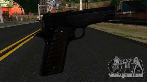 Colt M1911 from S.T.A.L.K.E.R. para GTA San Andreas segunda pantalla