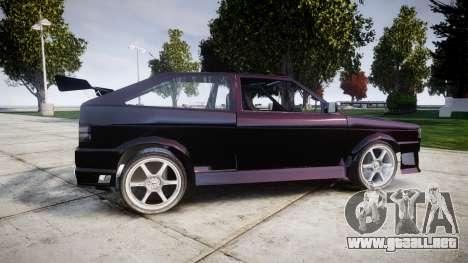 Volkswagen Gol GTI para GTA 4 left