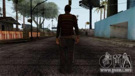 GTA 4 Skin 52 para GTA San Andreas segunda pantalla